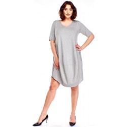 4d099085e9 Sukienka Bomo Moda luźna z krótkim rękawem midi