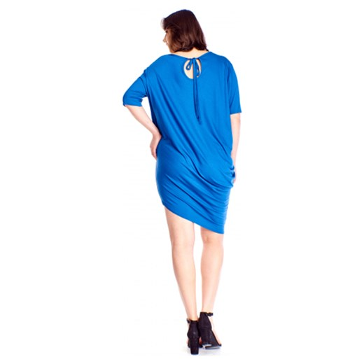 7bddba4809 Sukienka Bomo Moda z długim rękawem bez wzorów asymetryczna w Domodi