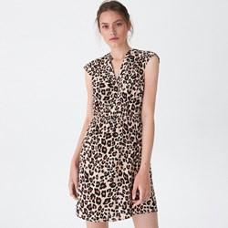 9afe4dd4f9 Sukienka House prosta na co dzień casual w zwierzęce wzory
