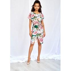 fd4f14027 Sukienka Mosquito z krótkim rękawem z okrągłym dekoltem prosta