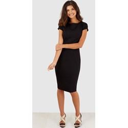 4e0eb0f133 Sukienka Closet London z krótkimi rękawami gładka