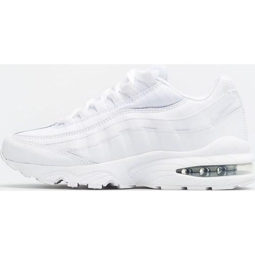 Buty sportowe damskie Nike dla biegaczy gładkie na wiosnę białe młodzieżowe wiązane