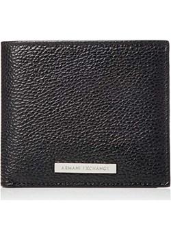 Armani Exchange męski portfel z logo Credit Card, czarny (czarny), 9.800000000007x1.8x11.2 cm Armani  Amazon - kod rabatowy