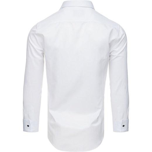 44d313d9d3e600 ... Koszula smokingowa z plisą biała (dx1741) Dstreet M ...