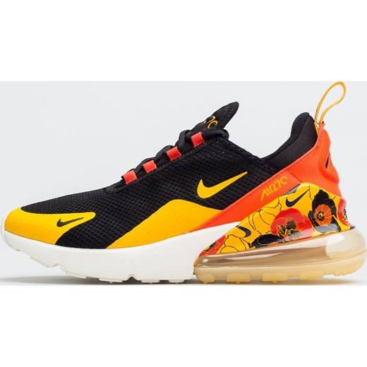Buty sportowe damskie wielokolorowe Nike do biegania młodzieżowe płaskie