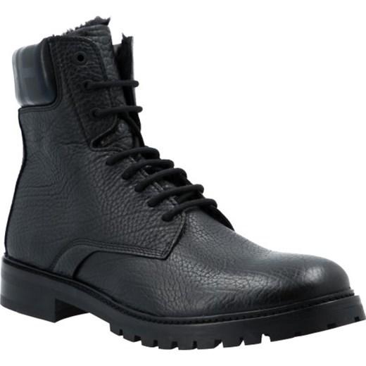 180755af758aa Hugo Skórzane buty Explore_Halb_gr Hugo Boss 45 promocyjna cena Gomez  Fashion Store