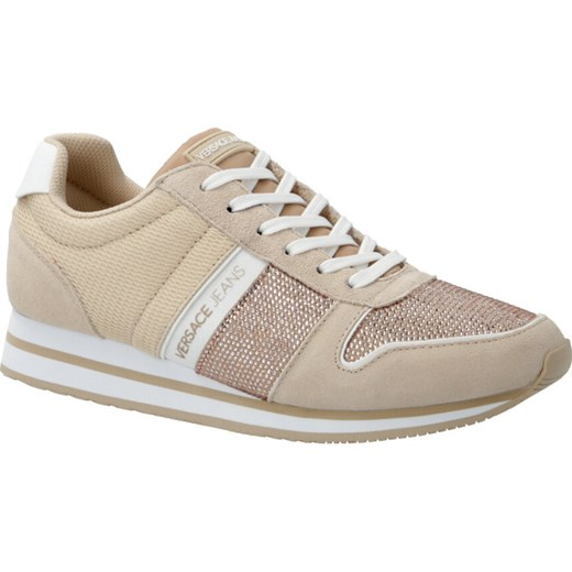 Versace Jeans buty sportowe damskie do siatkówki adidas stella mccartney wiązane bez wzorów na płaskiej podeszwie