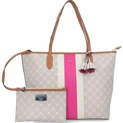e49907b1d79b4 Shopper bag Joop! duża z nadrukiem bez dodatków