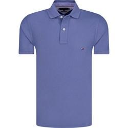 ee3b46e4f Niebieskie koszulki polo tommy hilfiger, wyprzedaż, lato 2019 w Domodi