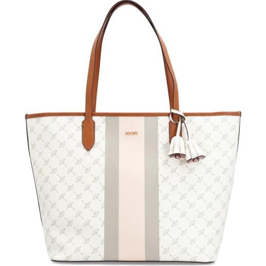 a5f0715ccb33d ... Wielokolorowa shopper bag Joop! z nadrukiem na ramię ...