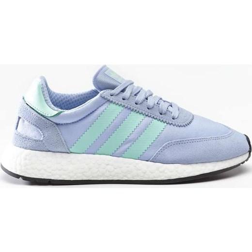 Buty sportowe damskie Adidas sneakersy gładkie płaskie sznurowane