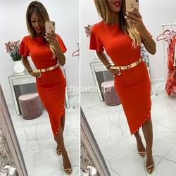 31d63375ccc11 Czerwone sukienki, lato 2019 w Domodi