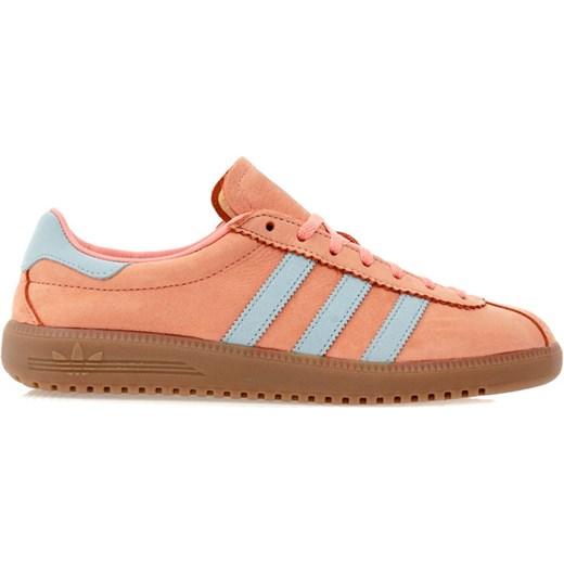 815fd68e Buty sportowe damskie Adidas z nubuku na wiosnę sznurowane gładkie płaskie