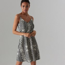8d9462c6bd Szara sukienka Mohito mini