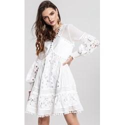bf83f90039d0d Białe sukienki, lato 2019 w Domodi