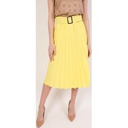 552e018a8b Spódnica Olika midi żółta