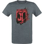 T-shirt męski Justice League z napisem