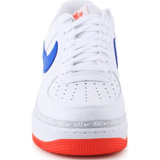 660f4e0f19a51 ... Buty sportowe męskie białe Nike air force sznurowane ...
