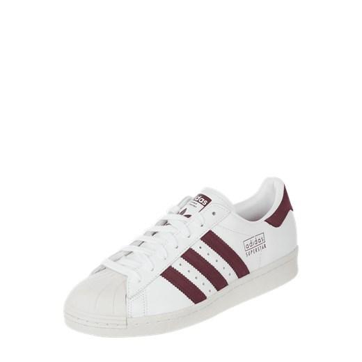 Adidas sneakersy damskie białe sznurowane bez wzorów