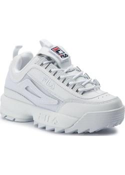 Sneakersy FILA - Disruptor II Patches Wmn 5FM00538.100 White  Fila eobuwie.pl - kod rabatowy