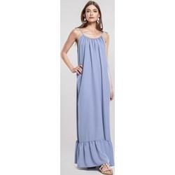 33c384bc74 Sukienka Renee maxi niebieska luźna