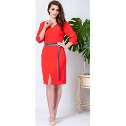 b3f5bc3e07 Sukienka Kokito midi elegancka ołówkowa na randkę