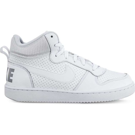 Buty sportowe damskie Nike do koszykówki bez wzorów sznurowane płaskie casualowe