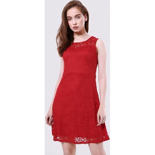 ca7a23dc3c Born2be sukienka z okrągłym dekoltem mini bez rękawów w Domodi