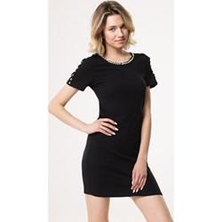 e299c208e2 Sukienka czarna Born2be dopasowana gładka