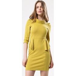 f7b9061519 Żółta sukienka Born2be mini