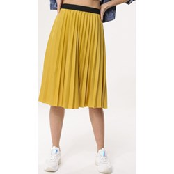 ff7d1e1711 Born2be spódnica żółta midi