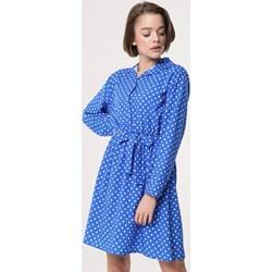 3843f29e06 Sukienka Born2be dzienna z długim rękawem