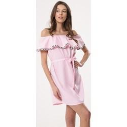 4298350856 Born2be sukienka bez wzorów mini