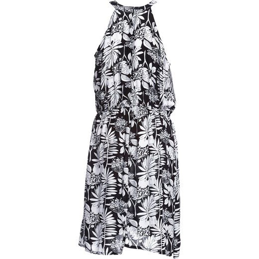 67f63dc55f ... Sukienka Born2be na plażę casual w abstrakcyjne wzory mini ...