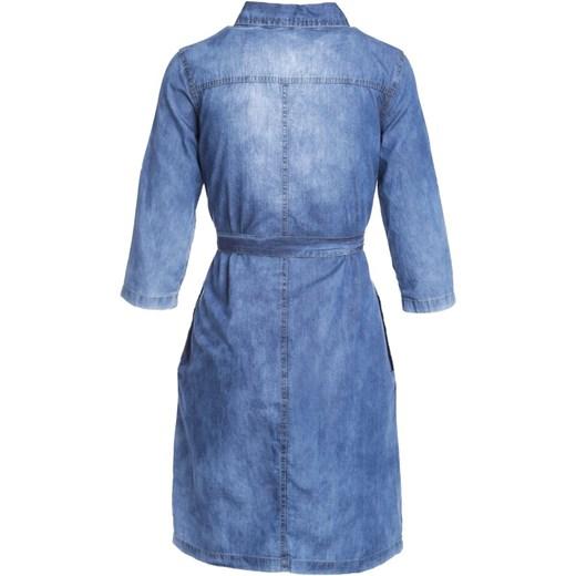 23157a7b31 Sukienka Born2be w miejskim stylu na spacer jeansowa z krótkim rękawem  Sukienka  Born2be z krótkim rękawem koszulowa ...