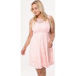 d7723b7b87 Sukienka Born2be dla puszystych casualowa