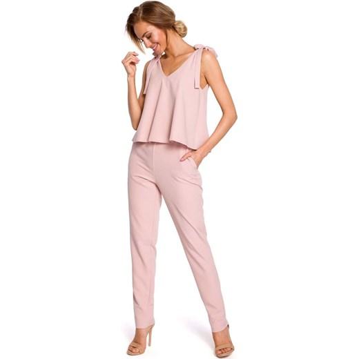 trwałe modelowanie Kombinezon damski różowy Moe długi Odzież Damska VP różowy Kombinezony damskie WVQB