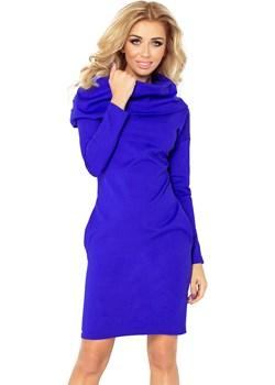 131-2 Sukienka z GOLFEM - grube punto - CHABER, Rozmiar: L   okazja Unicato  - kod rabatowy