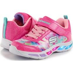 e03376165affc Buty sportowe dziecięce Skechers sznurowane