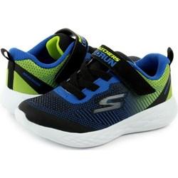 773cdf49bb450 Buty sportowe dziecięce Skechers bez wzorów sznurowane