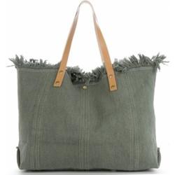 95dbd969e55dc8 Shopper bag Vittoria Gotti bez dodatków z zamszu na ramię