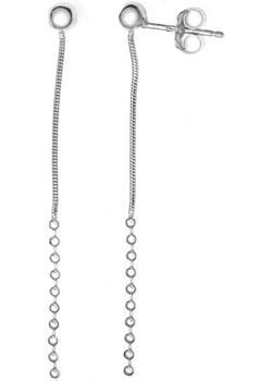 kolczyki srebrne KULECZKI 5cm jubiler-pl szary  - kod rabatowy