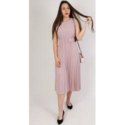 1e10f2dce2 Sukienka Olika maxi różowa bez wzorów