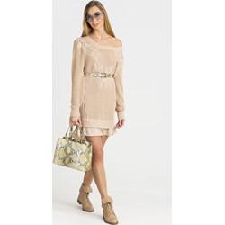 443cbf6ba0 Patrizia Pepe sukienka mini z wiskozy na spacer