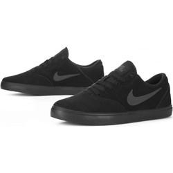 5e7d2daf Trampki męskie Nike sb sportowe zamszowe sznurowane