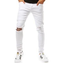 1a1aedcd4 Białe jeansy męskie, lato 2019 w Domodi