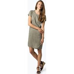 79f96de5e3 Sukienka Part Two gładka z krótkim rękawem z okrągłym dekoltem