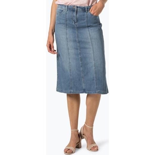 trwałe modelowanie Spódnica Gerry Weber Edition casual bez wzorów midi Odzież Damska XG niebieski Spódnice JQFP