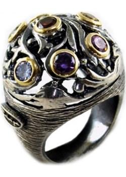Bardzo oryginalny pierścionek ze srebra Astorga  Luxuryproducts.pl - kod rabatowy