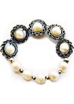 Bransoletka ze srebra i pereł - luksusowa inspiracja dla niej  Astorga Luxuryproducts.pl - kod rabatowy